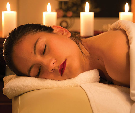 entspannung mit einer massage in essen
